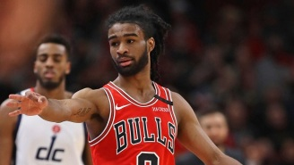 Coby White Thinks His New Hairdo Gives Him 'Superpowers' For The Bulls