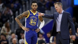 Steve Kerr On D'Angelo Russell: 'The Fit Was Questionable When We Signed Him'