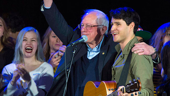 Vampire Weekend And Bon Iver Showed Their Support For Bernie Sanders At Campaign Rally Concerts