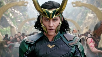 Tom Hiddleston Is Teasing How There's More To The 'Loki' Logo Than Meets The Eye