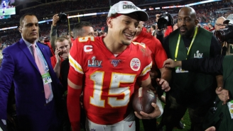 Patrick Mahomes Told The Chiefs He Wanted Them To Draft LSU RB Clyde Edwards-Helaire