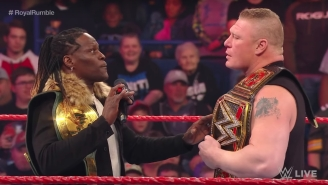 R-Truth Says Brock Lesnar Wants To Keep Working With Him