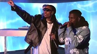 Wiz Khalifa, Lil Yachty, And Ty Dolla Sign's 'Speed Me Up' Performance Electrifies The 'Kimmel' Stage