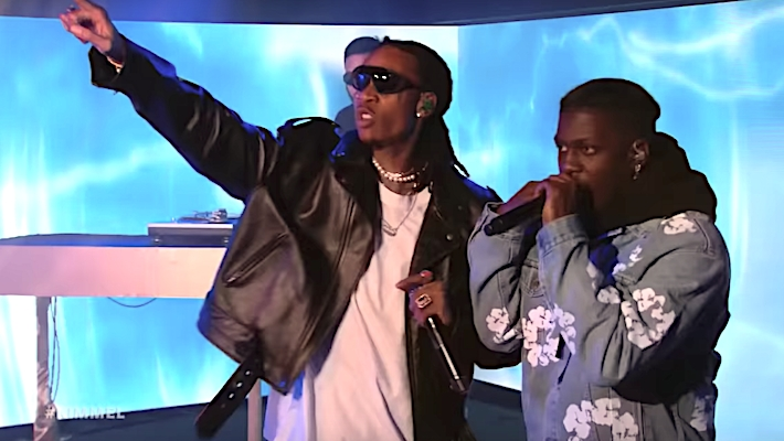 Wiz Khalifa, Lil Yachty, And Ty Dolla Sign Perform 'Speed Me Up' On 'Kimmel'