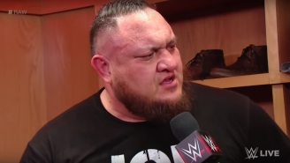 Samoa Joe Is Back On The Shelf After Yet Another Injury