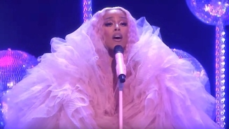 Doja Cat Embraces Disco In A Glittery Performance Of 'Say So' On 'Fallon'