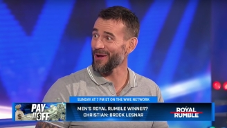 CM Punk Says He Could 'Technically' Wrestle For AEW Right Now