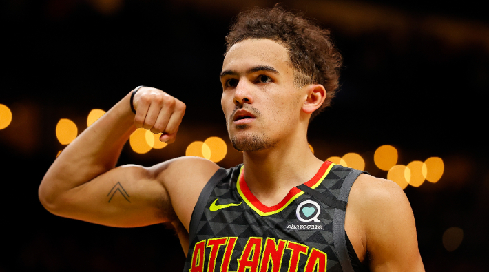 Trae Young's First Career 50-Point Game Propelled The Hawks To A Win Over The Heat