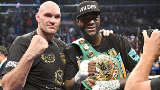 Report: A COVID Outbreak In Tyson Fury's Camp Put His Fight Against Deontay Wilder In Jeopardy