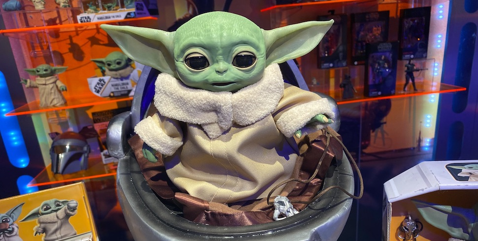You're Going To Own A Bunch Of Baby Yoda Toys Very Soon