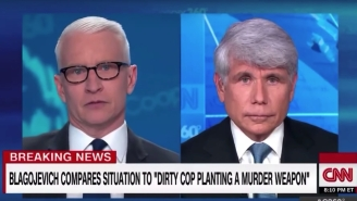 Watch Anderson Cooper Absolutely Go Off And Call 'Bulls*it' On Ex-Illinois Governor Rod Blagojevich