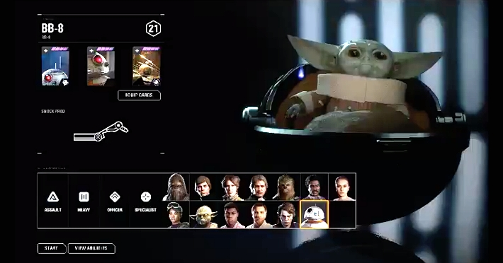 An Unofficial Baby Yoda Mod Makes 'Star Wars: Battlefront II' Deadly Adorable