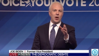 Jason Sudeikis, Larry David And Rachel Dratch Returned To 'SNL' For A Democratic Debate Cold Open