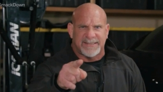 Bill Goldberg Returned To WWE (Via Satellite) To Make A Championship Challenge