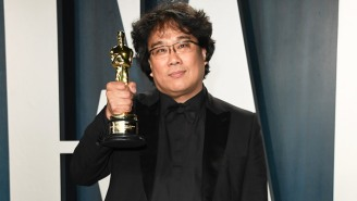 Bong Joon-Ho Actually Apologized To The Oscar Engravers For Having 'Too Many' Trophies