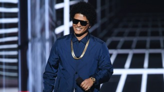 Bruno Mars Will Produce And Star In A Music-Centric Film For Disney