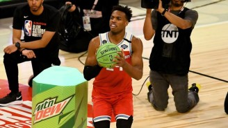 Buddy Hield Caught Fire On The Final Rack To Win The 2020 Three-Point Contest