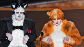James Corden And Rebel Wilson's 'Cats' Joke At The Oscars Didn't Go Over Well With A Certain Group