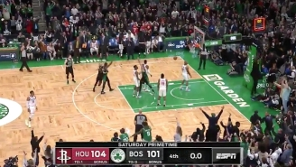 Jaylen Brown Forced Overtime With A Buzzer-Beating Three Off A Jayson Tatum Missed Free Throw