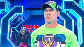 John Cena Returned To Smackdown For A Spooky Confrontation With His WrestleMania Opponent