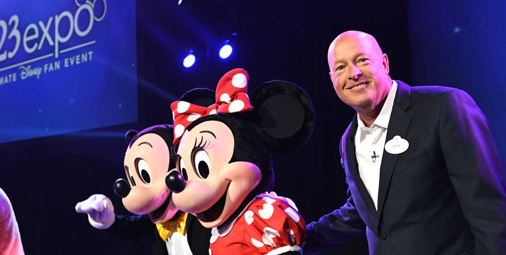 Bob Iger Has Been Replaced By A Different Man Named Bob As Disney's CEO