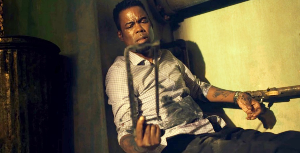 Chris Rock Plays A Game In The Grisly 'Spiral: From The Book Of Saw' Teaser Trailer
