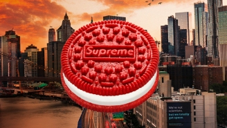 Oreo Has Just Linked Up With Supreme For The World's First Designer Cookie