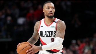 Damian Lillard Was Furious After A No-Call Potentially Prevented Overtime In Blazers-Jazz