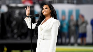 Demi Lovato Says She 'Blacked Out' While Singing The Super Bowl National Anthem