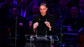 Diana Taurasi, Sabrina Ionescu And Gino Auriemma All Honored The Lives Of Kobe And Gianna Bryant In LA