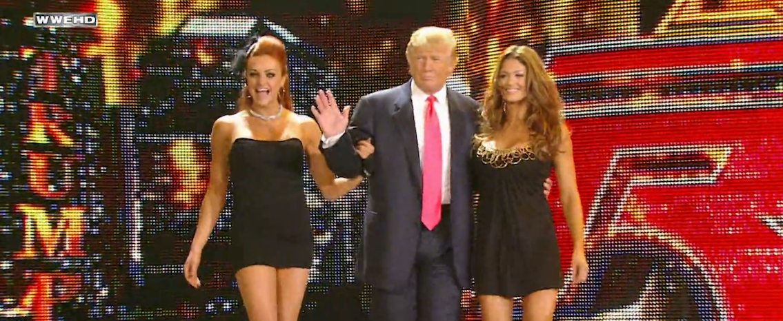 Former WWE Divas Champion Eve Torres Reveals Donald Trump Grabbed Her Forcefully 2
