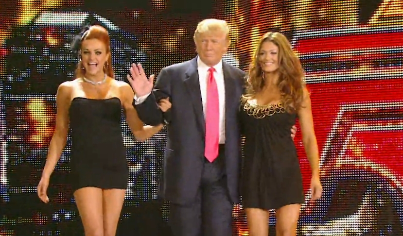 Former WWE Star Eve Torres Says Donald Trump Forcefully Grabbed Her In