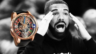 Drake's New Statement Timepiece Has A Working Roulette Wheel And It's Ridiculous