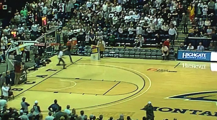 A Montana State Student Hit A Fullcourt Shot For $10,000