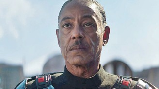 'The Mandalorian's Giancarlo Esposito Is Teasing Massive Lightsaber Action (Not Against Baby Yoda) To Come
