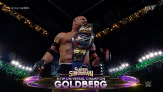 Bill Goldberg Won The Universal Championship At Super Showdown And Is Headed To WrestleMania