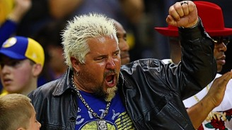 Guy Fieri On The Warriors, Andrew Wiggins, And Why He Loves All-Star Weekend So Much