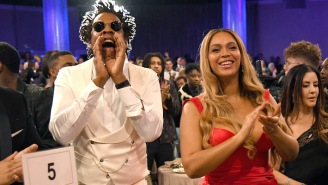 Jay-Z Explained Why He And Beyonce Were Seated During Demi Lovato's Super Bowl National Anthem