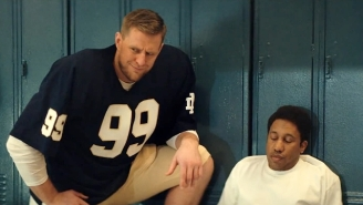 JJ Watt And 'SNL' Ruined 'Rudy' Once And For All With Its 'Robbie' Parody