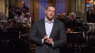 JJ Watt Offered Up A Super Bowl Prediction During His 'SNL' Monologue