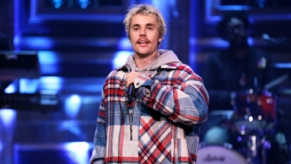 Justice Accuses Justin Bieber Of Stealing Their Logo For His New Album's Artwork