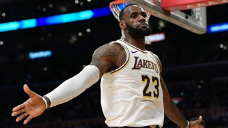 LeBron James Paid Tribute To Kobe Bryant With His Highlight-Reel Dunk Against The Rockets
