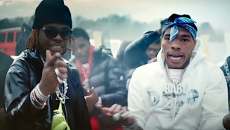 Lil Baby Burns Rubber In His Stark 'Heatin Up' Video With Fellow Atlanta Star Gunna