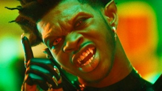 Lil Nas X And Nas Draw From Classic Horror And Sci-Fi Influences In The Demonic 'Rodeo' Video