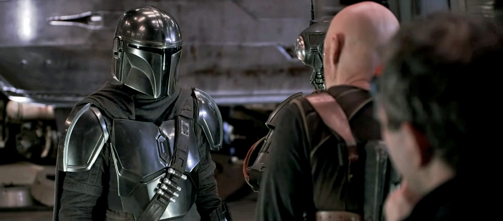 the mandalorian behind the scenes video