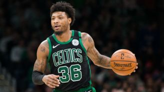Marcus Smart Offered Some Important Advice To Fans On Valentine's Day