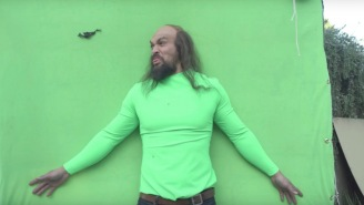 Jason Momoa's Super Bowl Commercial Has An Even Weirder Behind-The-Scenes Video