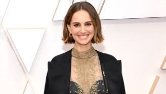 Natalie Portman's Oscar Outfit Included A 'Subtle' Tribute To This Year's Snubbed Female Directors