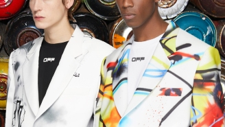 Off-White And Futura Team Up For A NYC Streets-Inspired Blazer For Spring