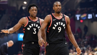 OG Anunoby And Serge Ibaka Are Wrapped Up In A War Over Scarfs